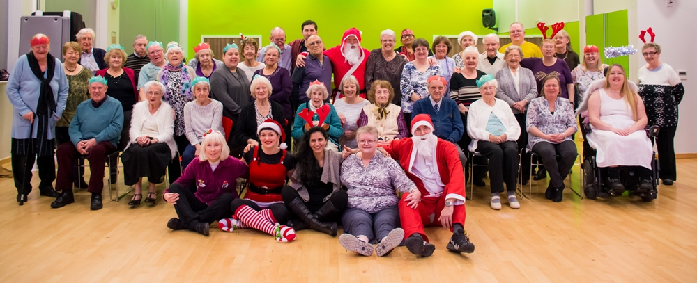 Photo: Active Living Christmas Party, where we invite all those attending our sessions to come and join in the fun.